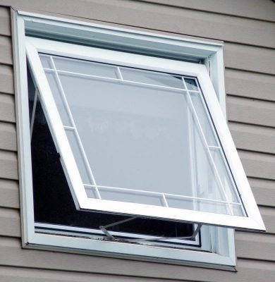 پنجره لولایی بازشو کلنگی