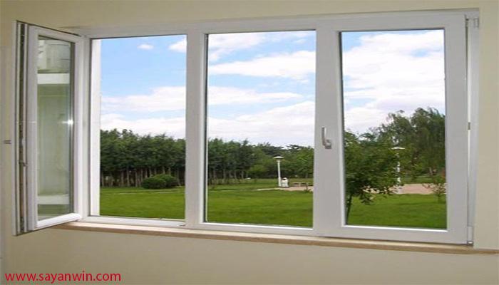 پنجره شیشه ای