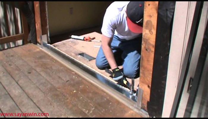تعمیر درب کشویی