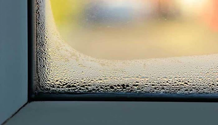 علت بخار زدن پنجره دوجداره در بین دو صفحه شیشه چیست؟