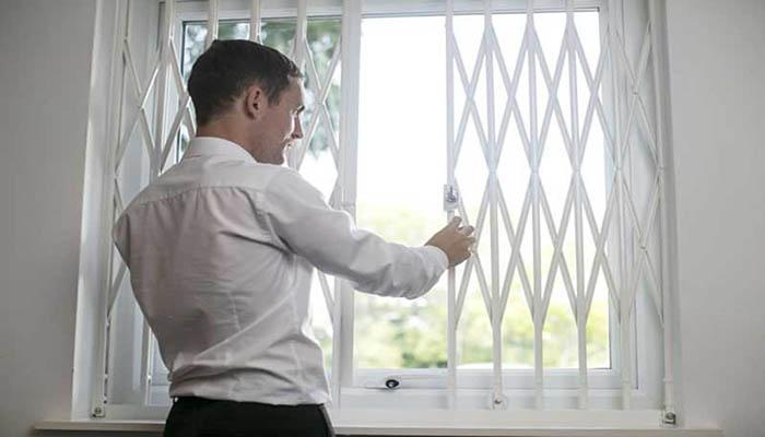 ایمن سازی پنجره دوجداره