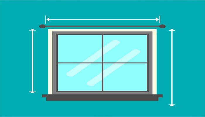 ابعاد استاندارد پنجره دوجداره upvc